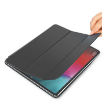 "Чехол для iPad Pro ""12.9"" (2018) Baseus Simplism Y-Type Leather Case (LTAPIPD-BSM01) - Черный"