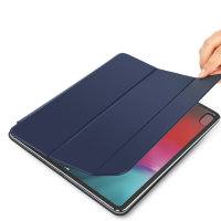 Чехол для iPad Pro 11 (2018) Baseus Simplism Y-Type Leather Case (LTAPIPD-ASM03) - Синий
